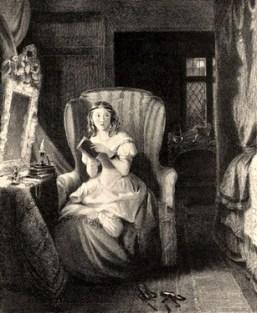 Catherine Morland,affrighted