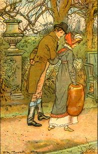 Illustration by C.E. Brock, Mansfield Park, Chapter34