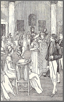 Illustration by M.V. Wheelhouse, Northanger Abbey, Chapter 3