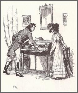 Illustration by Hugh Thomson, Persuasion Ch23
