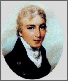 Portrait of Tom Lefroy, circa1800