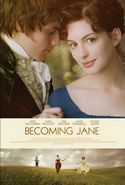 Image fo Becoming Jane poster (2007)