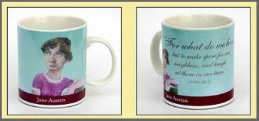Image of Jane Austen coffeemug