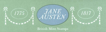 Image of British Mint Stamps Jane Austen Cover (1975)
