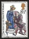 Illustration by Barbara Brown, Emma & Mr. Woodhouse, Bicentenary Stamp(1975)