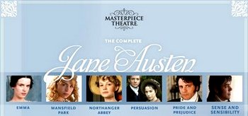 Image of the Masterpiece Theatre Jane Austen Promo