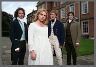 Image of Fanny Price and her court, Mansfield Park, PBS,(2008)