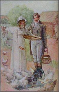 Illustration by A. Wallis Mills, Fanny & Edmund Bertram, Mansfield Park, Ch48