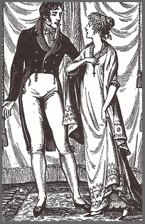 Illustration by Joan Hassall, Mansfield Park,Chapter33