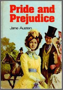 Image of Pride & Prejudice book cover, Purnell Books, Maidenhead,(1976)
