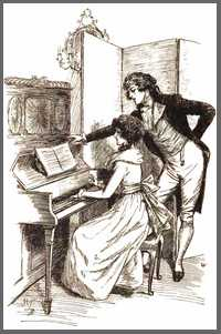 Illustration by Hugh Thomson, Sense & Sensibility, Chapter 10