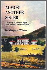 Image of the front cover of Almost Another Sister, by Margaret Wilson (1998)