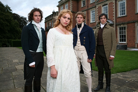 Image from Mansfield Park 2007 Billie Piper and cast © 2007 Masterpiece PBS