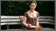Image od Olivia Williams as Jane Austen in PBS, Miss Austen Regrets