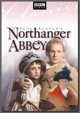 Image of cover of Northanger Abbey DVD, BBC (1986)