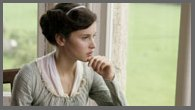 Image of Felicity Jones as Catherine Morland, PBS Northanger Abbey