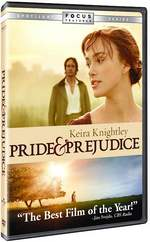 Image of the cover of the DVD of Pride & Prejudice, (2005)