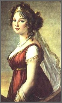Image of painting of Queen Louise Augusta of Prussia, by Elizabeth-Louise Vigee le Brun(1802)