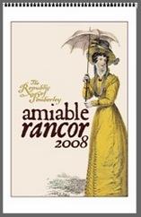 Image of Pemberley 2008 Aimable Rancor WallCalender