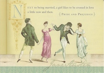 Image of Jane Austen note card