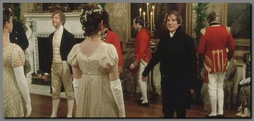 Image of Elizabeth & Mr. Collins dancing at Netherfield, Pride & Prejudice, (1995)