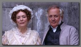 Image of mr. & Mrs. Bennet, Pride & Prejudice, BBC,(1995)