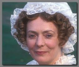 Image of Allison Steadman as Mrs. Bennet, Pride & Prejudice, BBC,(1995)