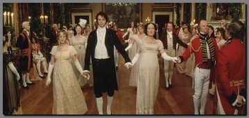 Image of couples dancing at Netherfield Ball, Pride & Prejudice, (1995)