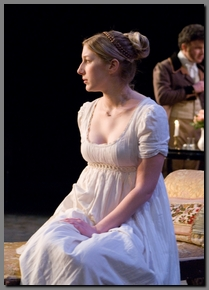 Image of Chiara Motley as Anne Elliot, Persuasion, Book-It Theatre, (2008)