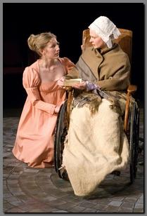 Image of Chiara Motley & Carol Roscoe in Persuasion, Book-It Rep,(2008)
