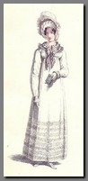 Illustration of a Walking Dress, Ackermann(1817)
