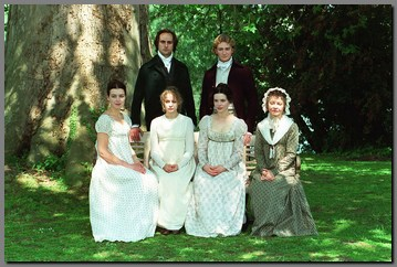 Image of group shot of the cast of Emma, (1996)