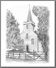 Image of St. Nicholas Church, Steveton, Hampshire, by Nan, The Republic of Pemberley