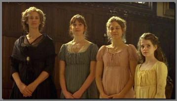 Image of the Dashwood ladies, Sense and Sensibility, (2008)