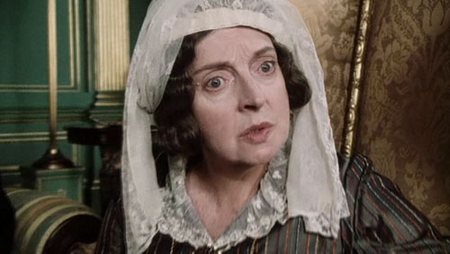 Image of Lady Catherine de Bourgh, Pride and Prejudice, (1995)