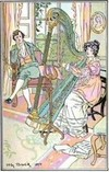 Illustration by H.M. Brock, Mansfield Park, (1906)