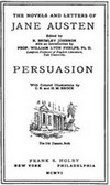 Image of the title page of Persuasion, Frank S. Holby, (1906)