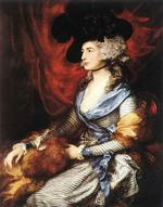 Image of the painting Sarah Siddons by Thomas Gainsborough