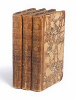 Image of three volumes first edition of Emma, presented to Ann Sharp