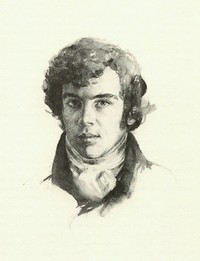 Illustration of Mr. Darcy, by Chris Duke, (1980)