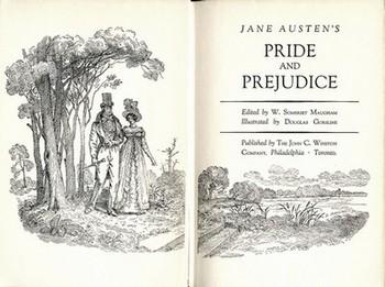 Title Page of Pride and Prejudice, John C. Winston Co, (1949)