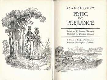 Title Page of Pride and Prejudice, John C. Winston Co, (1949)