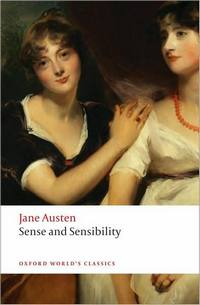 Image of the cover to Sense and Sensibility, by Jane Austen, Oxford Unversity Press, (2008)