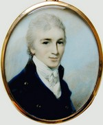 Image of miniature portrait of Tom Lefroy, (1798)