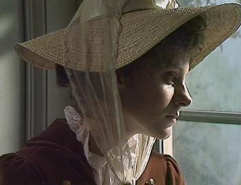 Image of Elizabeth Bennet Contemplates, Pride and Prejudice 1979