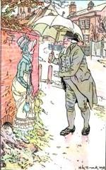 Illustration by H.M. Brock, Mansfield Park, (1898)