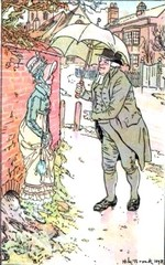 Illustration by H.M. Brock, Mansfield Park, (1898)