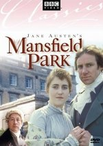 Image of the DVD cover to Mansfield Park, (1983