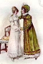 Illustration by C.E. Brock, Mansfield Park (1896)