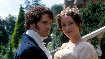 Mr. Darcy and Elizabeth Bennet, Pride and Prejudice (1995)